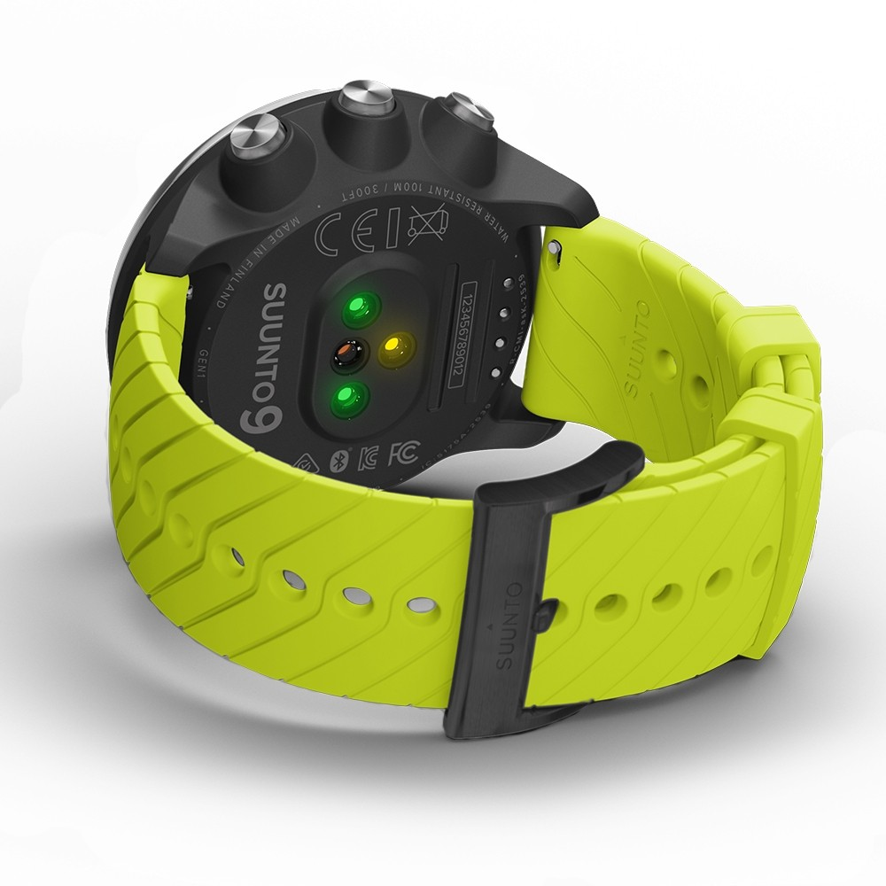 Suunto 9 Black Lime